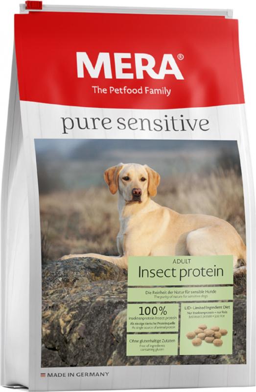 MERA Pure Sensitive aux insectes pour chien adulte de moyenne et grande taille
