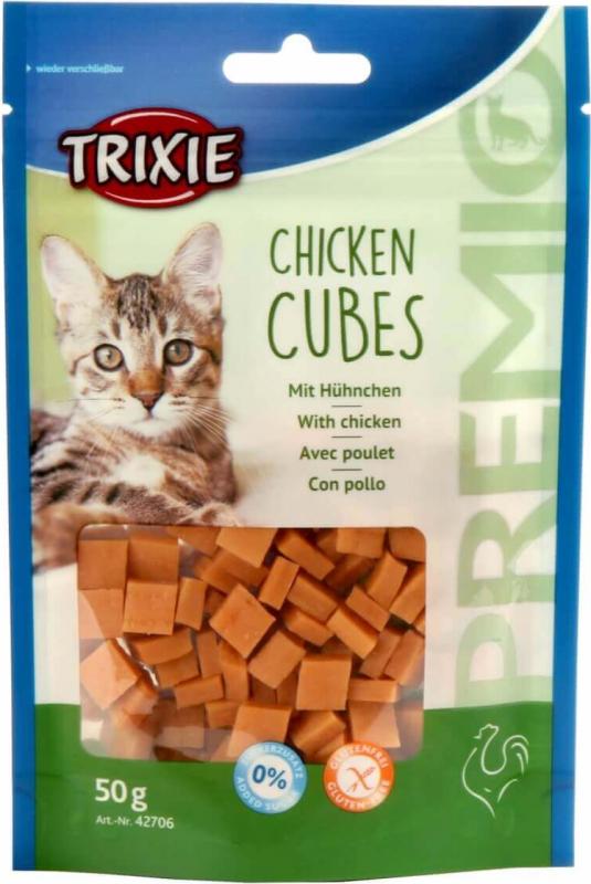 Friandises pour Chat TRIXIE Premio Cubes au Poulet