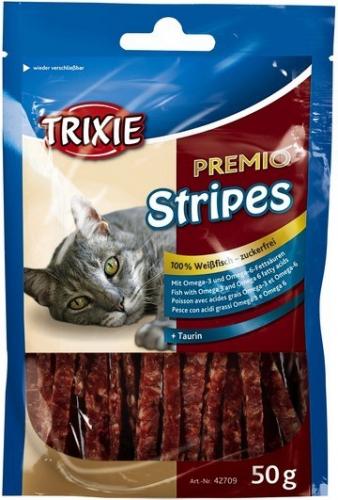 Premio stripes poisson friandise chat - Herbe a chat seche ...