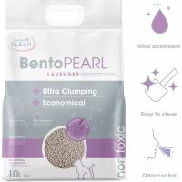 Mineraal kattenbakvulling BentoPearl met lavendel