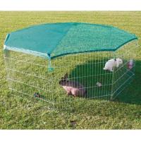 Enclos extérieur avec filet de protection (1)