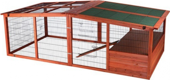 Enclos XL avec toit