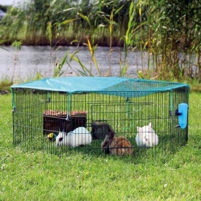 Enclos extérieur pour jeunes animaux