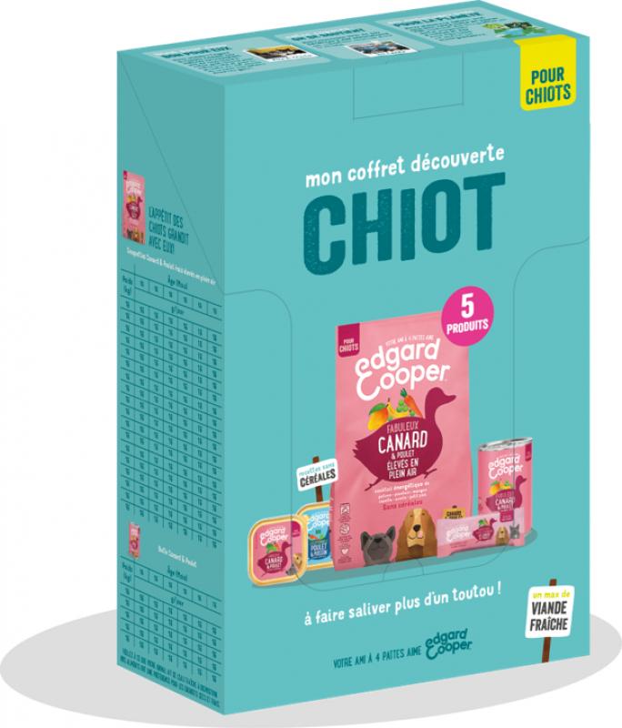 Edgard & Cooper Coffret Découverte pour Chiot