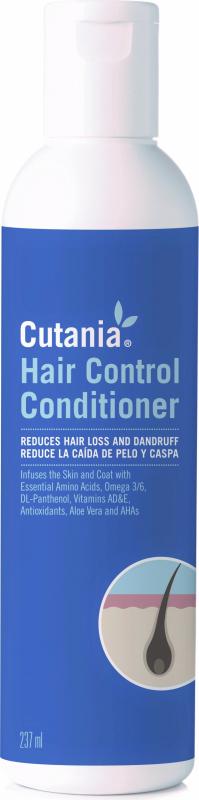 CUTANIA HairControl Après-Shampoing pour chien et chat