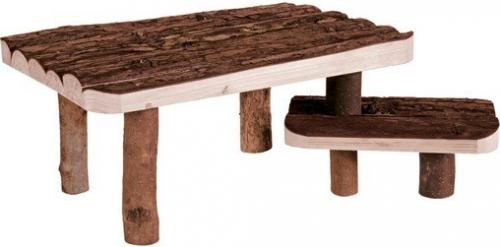 unterstand und liegeplatz mit treppe k figzubeh r. Black Bedroom Furniture Sets. Home Design Ideas