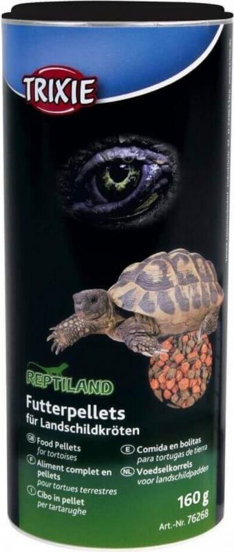 Pelletvoer voor landschildpadden