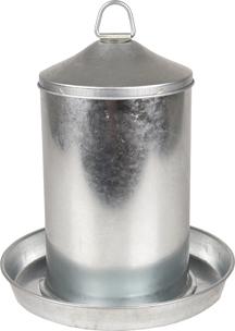 Abreuvoir galvanisé Dobby de chez Famingo 4 litres
