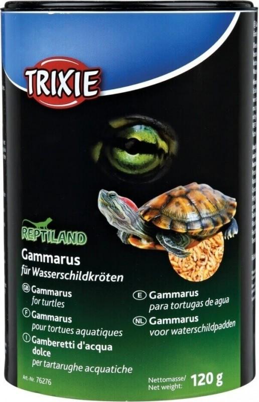 Gammarus, nourriture pour tortues