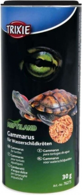 Gammarus, alimentação para tartarugas