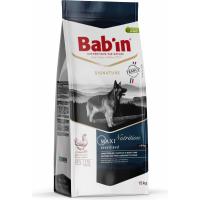 BAB'IN Signature Maxi Sterilised au poulet pour chien stérilisé de grande taille