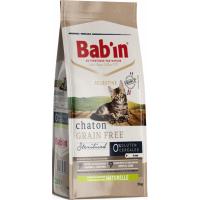BAB'IN Selective Chaton Grain free Pienso con pollo para gatitos
