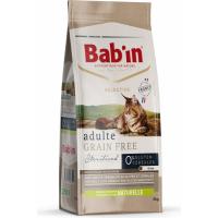 BAB'IN Selective Grain Free para gatos adultos con pollo sin cereales