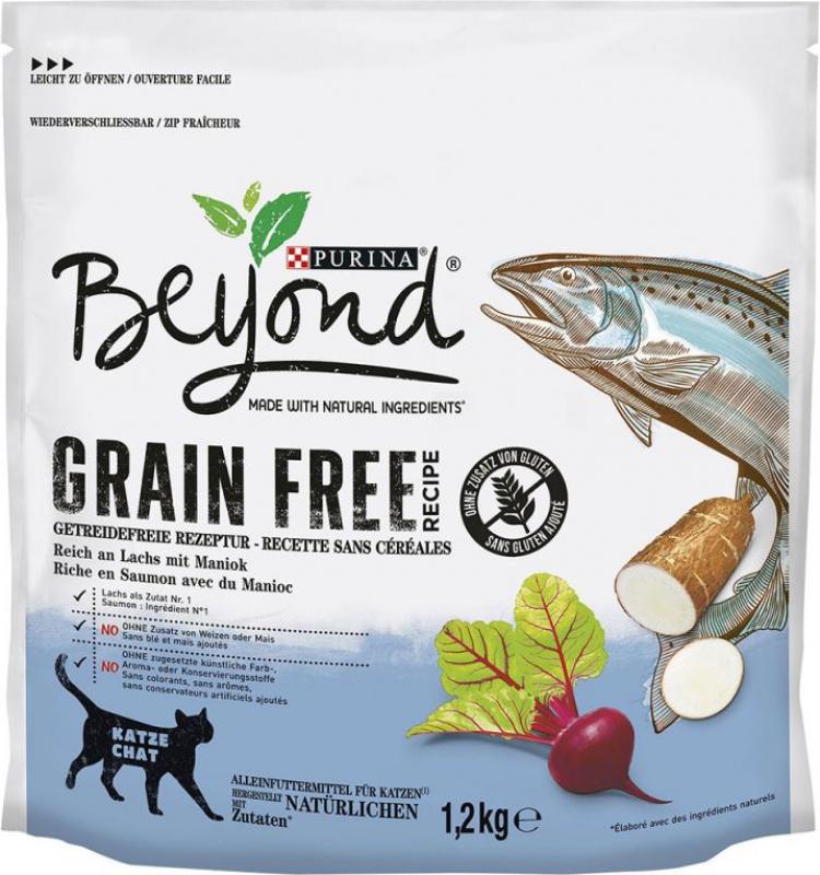 Beyond Grain Free mit Lachs und Maniok für Katzen