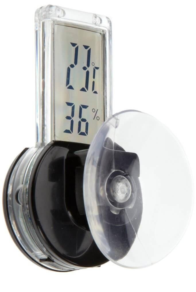Thermomètre / hygromètre digital avec ventouse_0