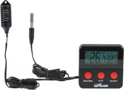 Thermo / Hygromètre digital pour terrarium avec sonde