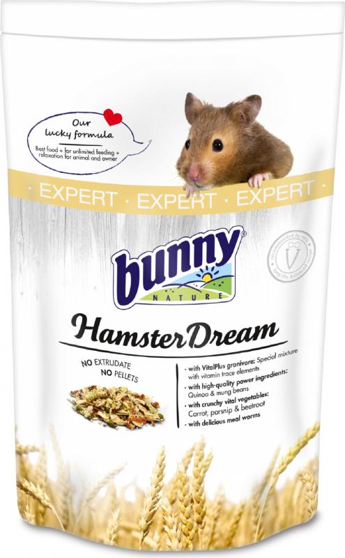 BUNNY HamsterDream Expert Rêve de hamster Aliment complet Hamsters