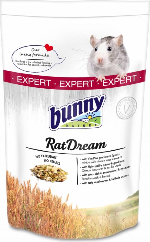 BUNNY RatDream Expert Rêve de rat Aliment complet Rats