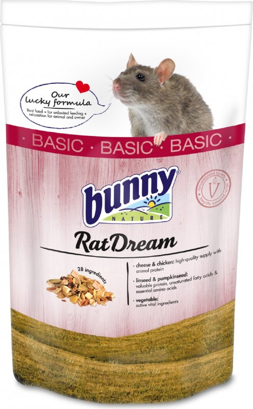 BUNNY RatDream Basic Rêve de rat Aliment complet Rats