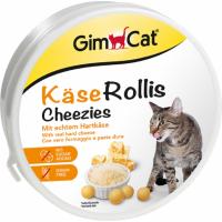 GIMCAT Kase-rollis scatolette di Rotoli di formaggio per gatto