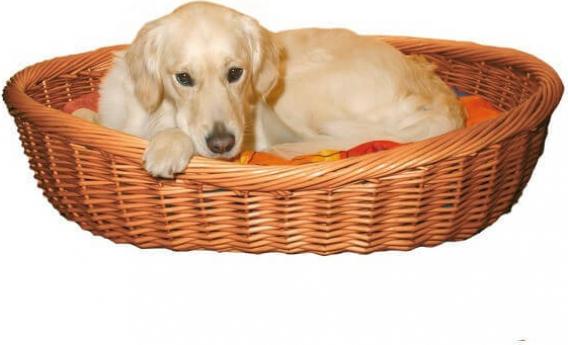 Corbeille osier pour chien, plusieurs tailles disponibles
