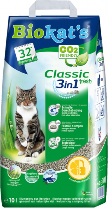 Biokat's Classic Fresh 3 in 1 Litière pour chat