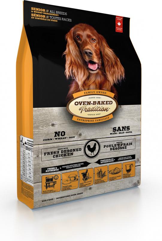 OVEN-BAKED TRADITION au poulet pour chien senior