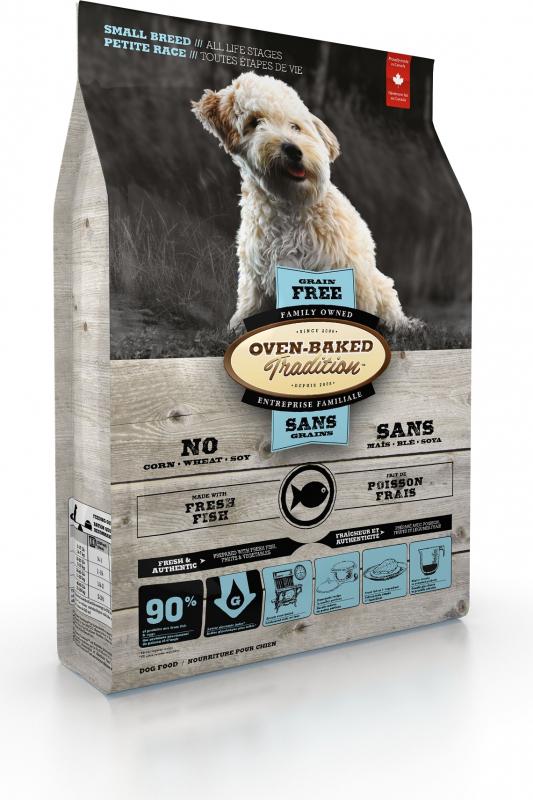 OVEN-BAKED TRADITION sans céréales au poisson pour chien de petite taille