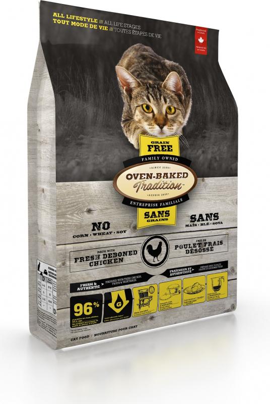 OVEN-BAKED TRADITION sans céréales au poulet pour chat