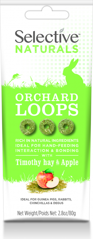 Supreme Science Selective Orchard Loops Fléole et Pomme lapins, cochons d'inde, chinchillas et octodons