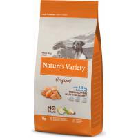 NATURE'S VARIETY Original Chien Mini Adulte au saumon sans céréales pour chien de petite taille