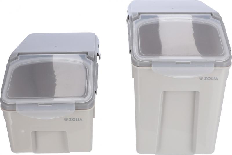 Conteneur à croquettes hermétique Zolia - 2 tailles disponibles
