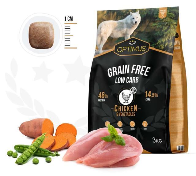 croquettes optimus grain free low carb
