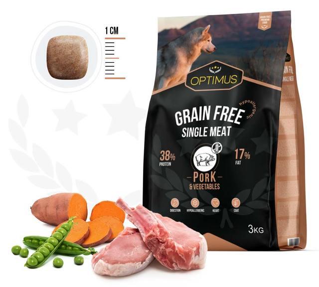 croquettes optimus grain free single meat