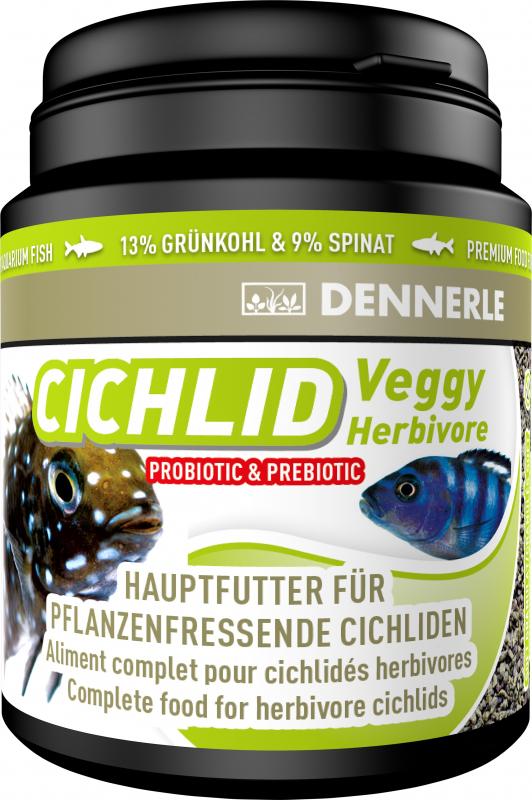 Dennerle Cichlid Veggy Aliment pour les cichlidés herbivores