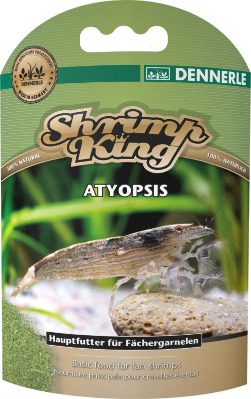 Dennerle Shrimp King Atyopsis, nourriture pour crevettes éventail