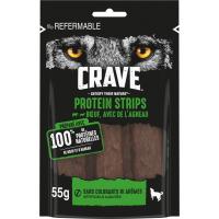 CRAVE Graanvrije proteïne snacks met rund en lam