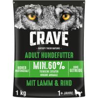 CRAVE sans céréales à l'agneau et au bœuf pour chien adulte