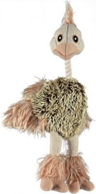 Ostrich, Jute/Plush