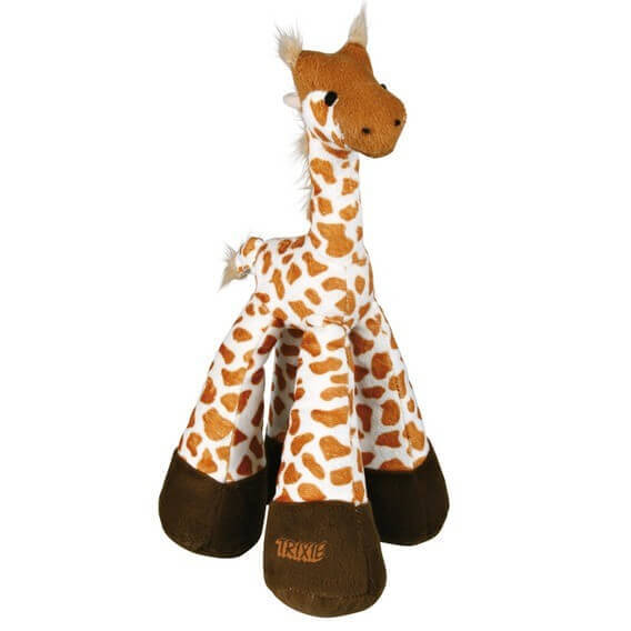 girafe en peluche jouet pour chien. Black Bedroom Furniture Sets. Home Design Ideas