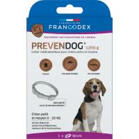Francodex Collier antiparasitaire prevendog 3 tailles