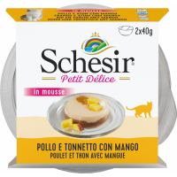 SCHESIR Petit Délice für Katzen - verschiedene Geschmacksrichtungen