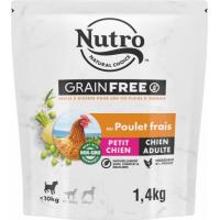 NUTRO Grain Free sans céréales au poulet pour chien adulte de petite taille