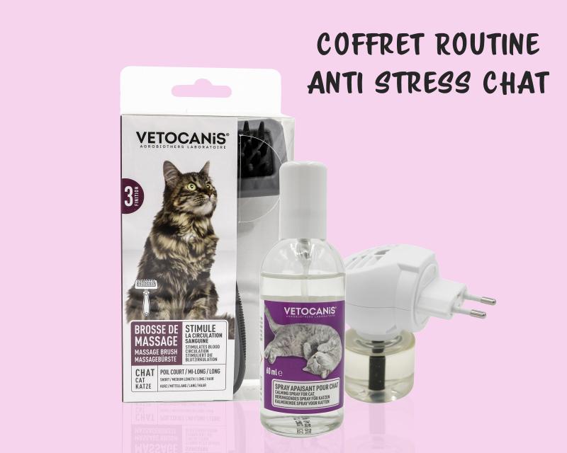VETOCANIS Coffret routine anti-stress pour chat