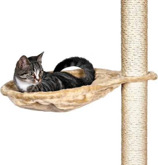 Nid XL pour poteau arbre à chat beige
