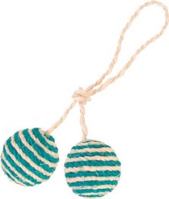 2 pelotas con cuerda