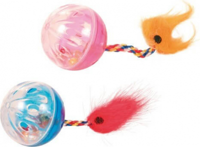 Set of Rattling Balls with Tails, Plastic