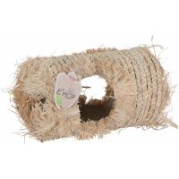 Maisschalentunnel für kleine Nagetiere - 32cm