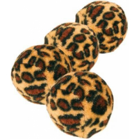 Set of Leopard Print Toy Balls (x4)