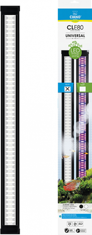 Ciano LED Lichtleiste - CLE schwarz (Full pack) Universal - verschiedene Modelle verfügbar